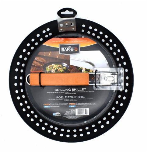Mr. Bar-B-Q Non-Stick Skillet With Removable Handle Perspective: top