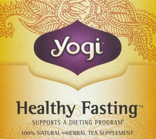 Yogi Healthy Fasting Tea Bags Perspective: top