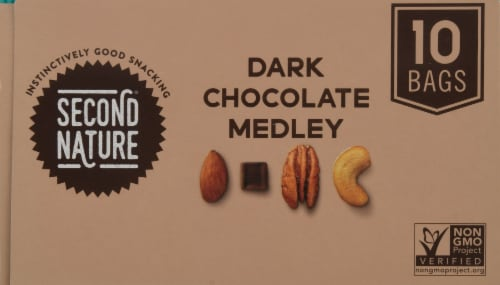 Second Nature® Gluten Free Dark Chocolate Medley Mix Packs Perspective: top