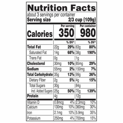 Magnum Milk Chocolate Vanilla Ice Cream Perspective: top