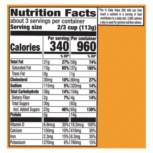 Magnum Double Sea Salt Caramel Ice Cream Perspective: top