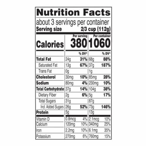 Magnum Double Cookie Crumble Ice Cream Perspective: top