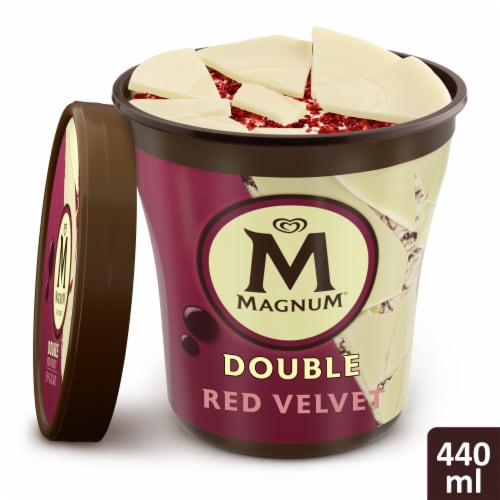 Magnum Double Red Velvet Ice Cream Perspective: top