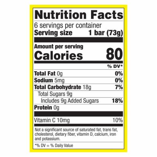 Popsicle® Minions Frozen Confections Perspective: top