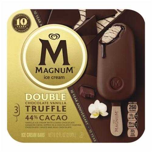 Magnum® Double Chocolate Vanilla Truffle Ice Cream Bars Perspective: top