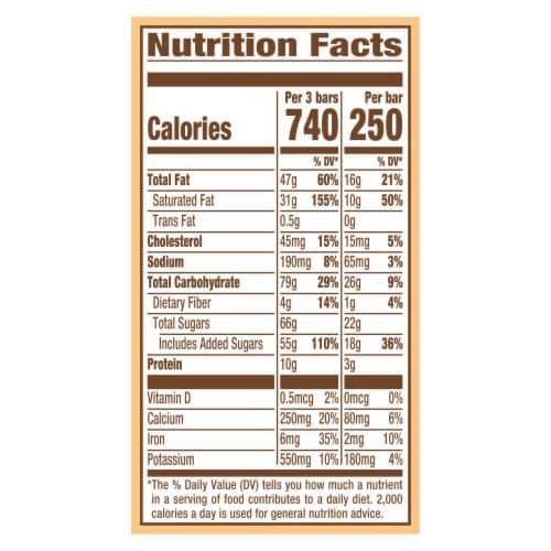 Magnum Double Caramel Vanilla Ice Cream Bars Perspective: top
