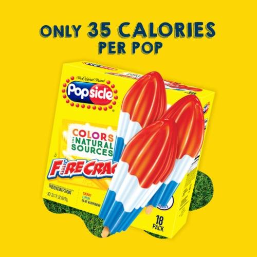 Popsicle® Firecracker Ice Pops Perspective: top