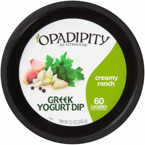 Opadipity by Litehouse Creamy Ranch Greek Yogurt Dip Perspective: top