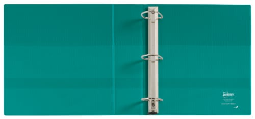 Avery Clear Cover Heavy Duty 3-Ring Binder – Assorted Perspective: top
