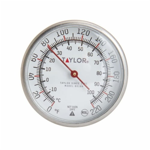 Taylor Instant Read Thermometer Perspective: top