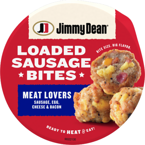 Jimmy Dean® Meat Lovers Loaded Sausage Bites Perspective: top