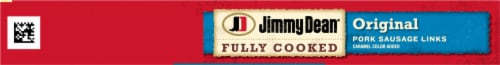 Jimmy Dean® Fully Cooked Original Pork Sausage Links Perspective: top