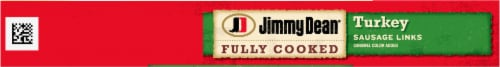 Jimmy Dean® Fully Cooked Turkey Sausage Links Perspective: top