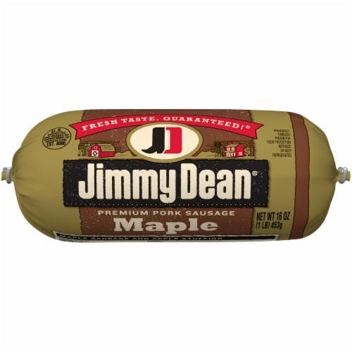 Jimmy Dean Maple Premium Pork Sausage Roll Perspective: top