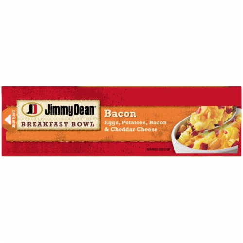 Jimmy Dean Bacon Egg & Cheese Breakfast Bowl Perspective: top