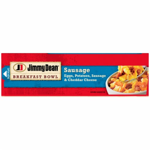 Jimmy Dean® Sausage Egg & Cheese Breakfast Bowl Perspective: top