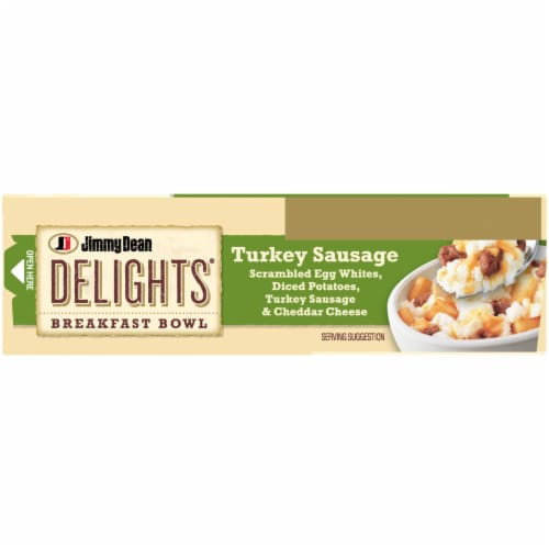 Jimmy Dean Delights Turkey Sausage Breakfast Bowl Perspective: top