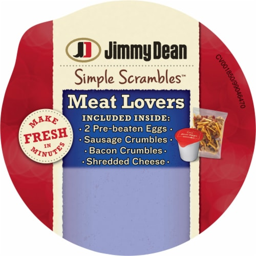 Jimmy Dean® Meat Lovers Simple Scrambles Perspective: top