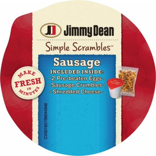 Jimmy Dean Simple Scrambles™ Sausage Breakfast Cup Perspective: top