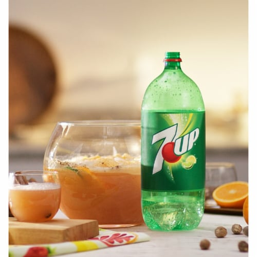 7UP Lemon Lime Soda Perspective: top