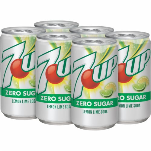 7UP® Zero Sugar Lemon-Lime Soda Perspective: top
