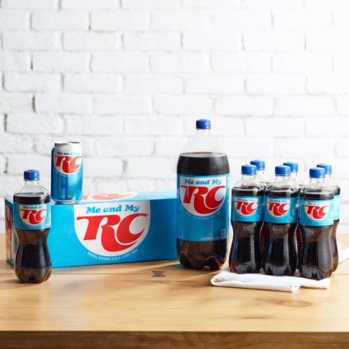 RC Cola Soda Perspective: top