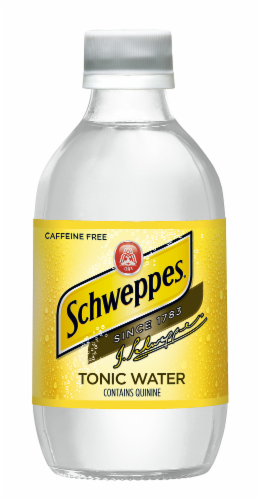Schweppes Tonic Water Perspective: top