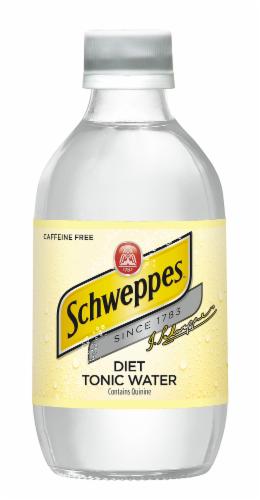 Diet Schweppes Tonic Water Perspective: top