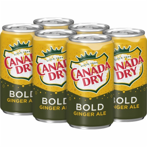 Canada Dry Bold Ginger Ale Perspective: top