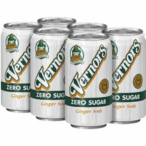 Vernors Zero Sugar Ginger Soda Perspective: top