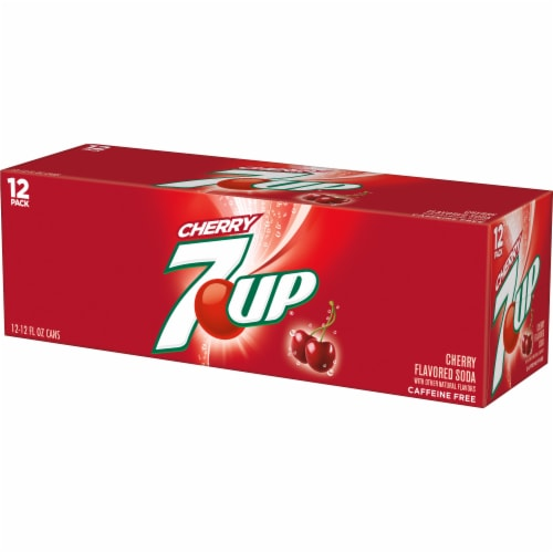 7UP Cherry Soda Perspective: top