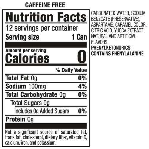 A&W Cream Zero Sugar Soda Perspective: top