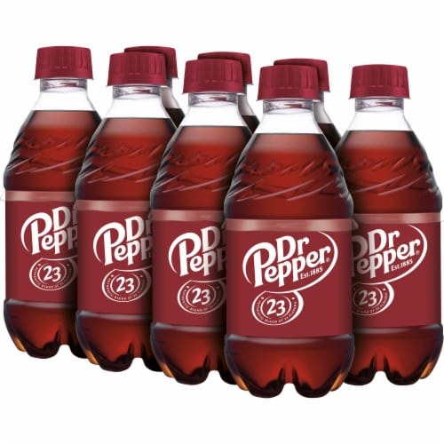 Dr Pepper Soda Perspective: top