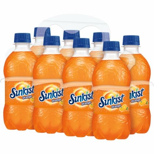 Sunkist Orange Soda Perspective: top