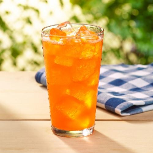 Sunkist Zero Sugar Orange Soda Perspective: top