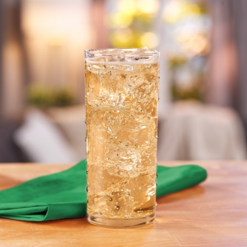 Canada Dry Zero Sugar Ginger Ale Soda Perspective: top