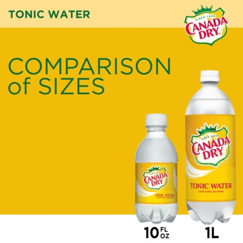 Canada Dry® Tonic Water Perspective: top