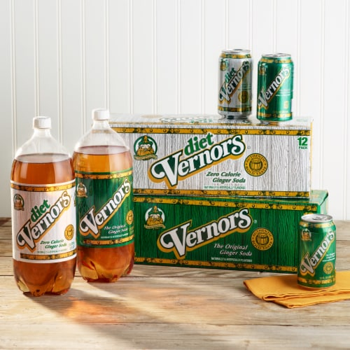 Vernors Ginger Soda Perspective: top