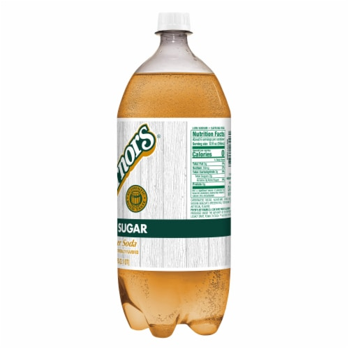 Vernors® Zero Sugar Ginger Soda Perspective: top