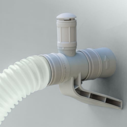 Bestway 43116E CoolerZ Rapid Rider Inflatable River Lake Pool Tube Float, Orange Perspective: top