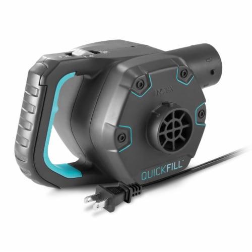 Intex Quick Fill 120 Volt AC Electric 38.9 CFM Inflatable Float & Air Bed Pump Perspective: top