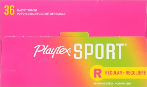 Playtex® Sport® Unscented Regular Tampons Perspective: top