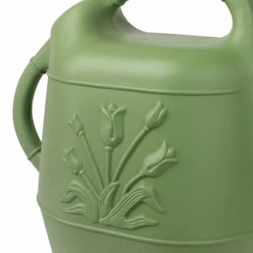 Union Products 63068 Plants & Garden 2 Gallon Plastic Watering Can, Sage Green Perspective: top