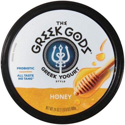 The Greek Gods® Honey Greek Style Yogurt Perspective: top