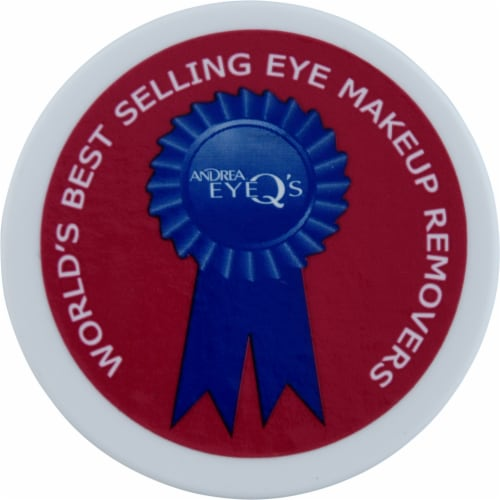 Andrea Eye Q's® Makeup Remover Pads Perspective: top