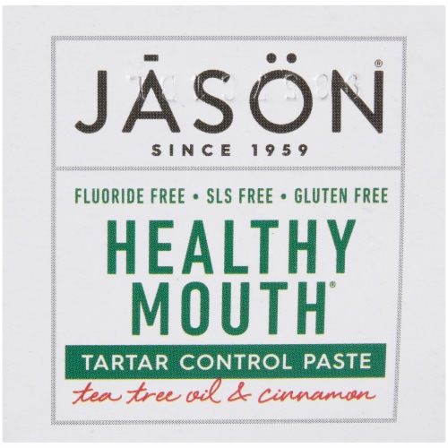 Jason® Healthy Mouth Toothpaste Perspective: top