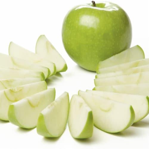 PrepWorks by Progressive Dishwasher Safe 16-Slice Thin Apple Slicer and Corer Perspective: top