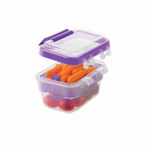 Progressive International Snaplock 2 Cup Capacity Snack To Go Plastic Container Perspective: top