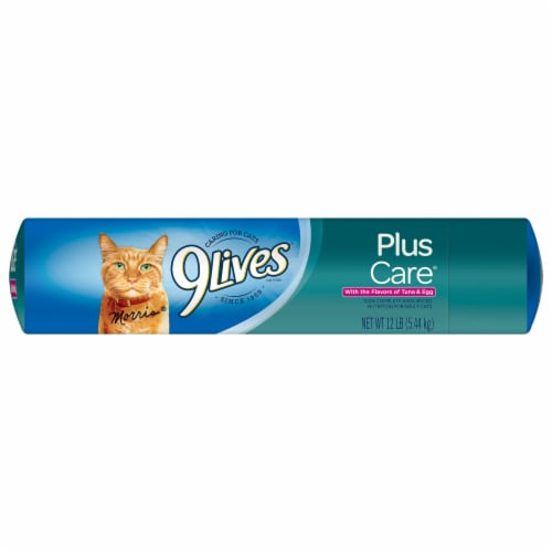 9Lives PlusCare Dry Cat Food Perspective: top