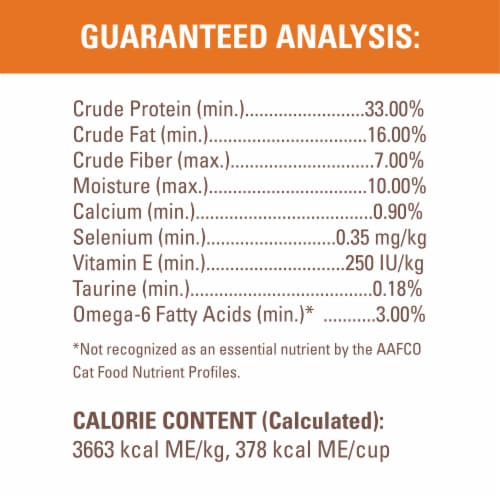 Nutro Wholesome Essentials Chicken & Brown Rice Recipe Dry Indoor Cat Food Perspective: top